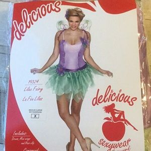 Women's Sexy Fairy Costume Dress wings Cosplay New